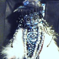 Tribal Art Doll Work In Progress