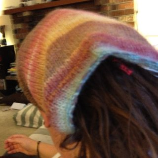 Dread sock I knit