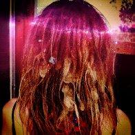 space hair!! 11 months <3