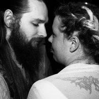 Our dready blue moon wedding