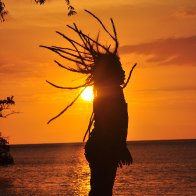 sunset dreadlocks
