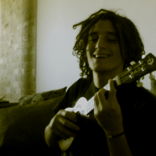 playing the Uke