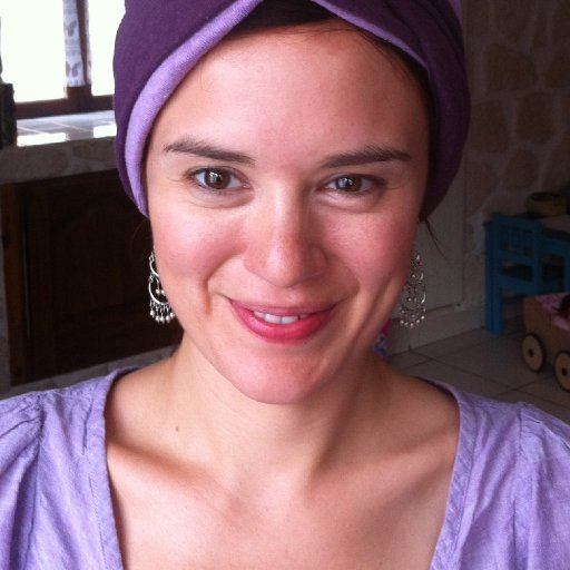 A turban I made from organic hemp jersey