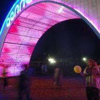 The arch at Bonnaroo