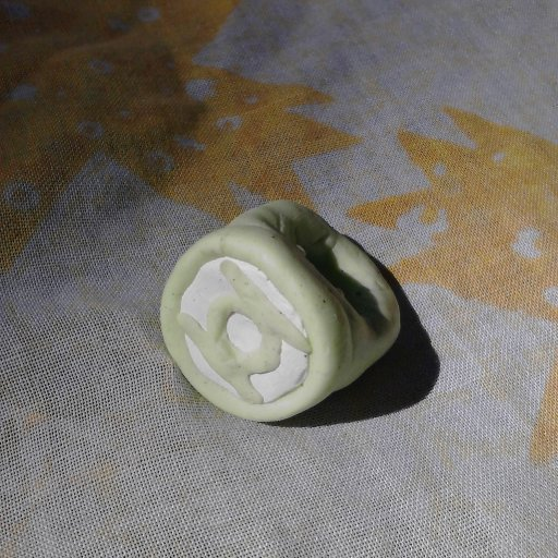 green lantern dread bead