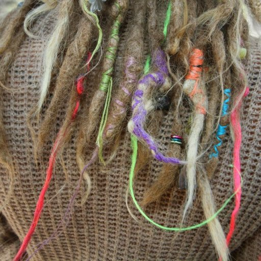 dreads in color