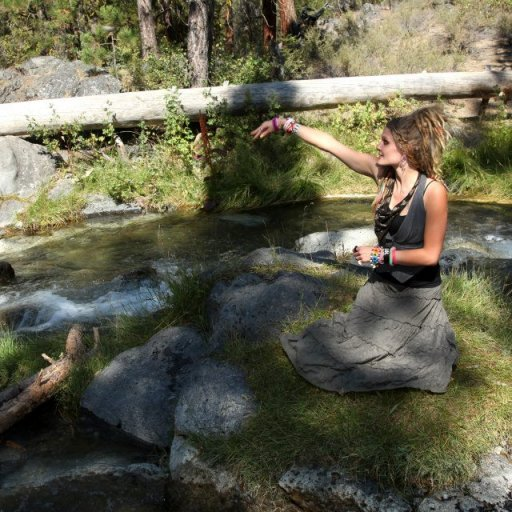 Throwing some rocks in water