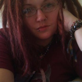 pic number 2 day 2..... only half way through a mohawk of dreads.... geeze i have alot of hair!!