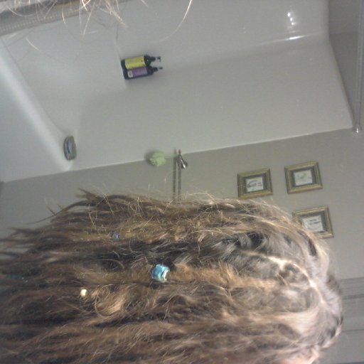 My seriously frizzy locks