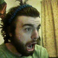 head band made from shoelaces