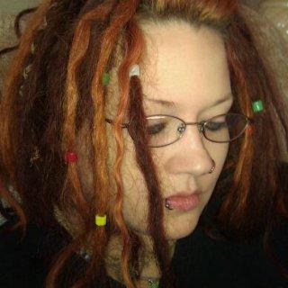 my lil spiral baby dread.... awwwww aint it sooo cute???