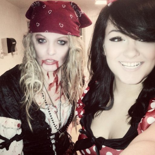 Zombie and Mini Mouse