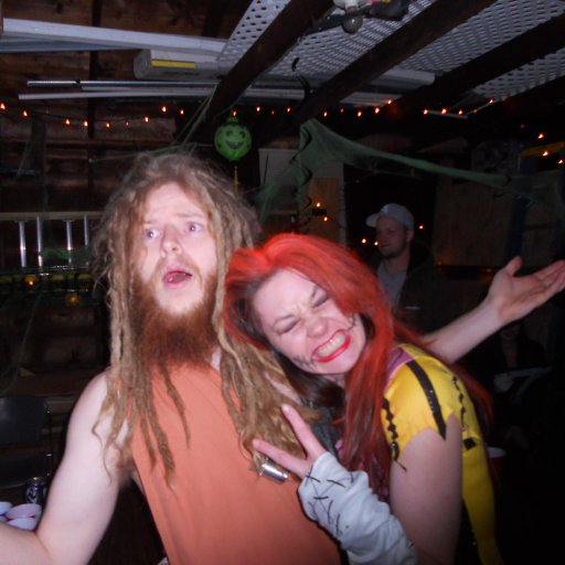 Moses and Sally Skelington