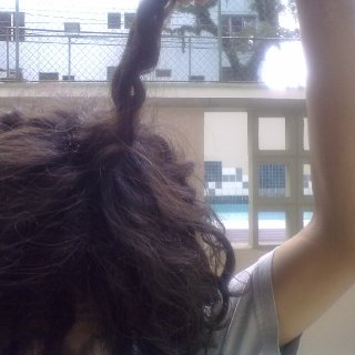 160 days massive giant dread that was congoing with another 3 it is getting tight i love it