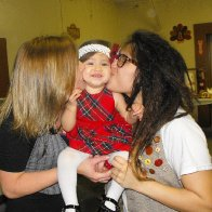 My girl & I with my darling niece Rhaelyn <3