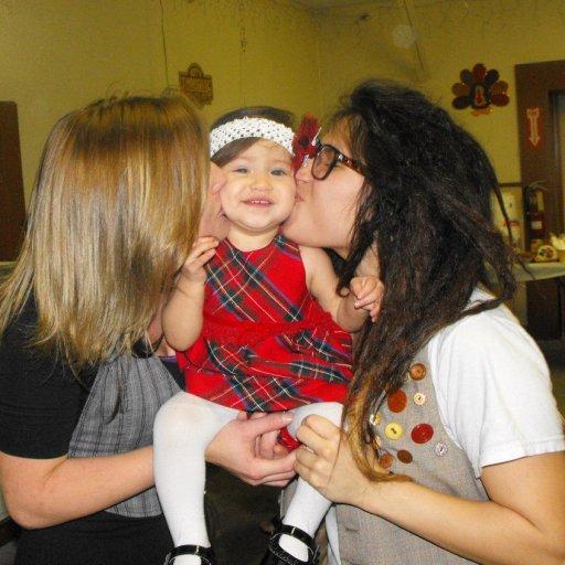 My girl & I with my darling niece Rhaelyn <3
