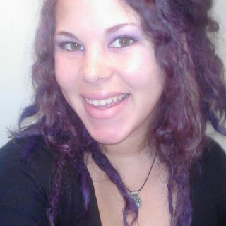 this was about 3 weeks ago when my dreads had just been dyed purple. my dreads were just over 3 months old.