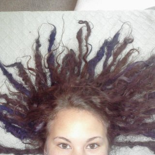 taken a few days ago. My dreads are almost 4 months old =)