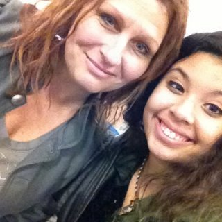 Me and my daughter, Spencyr.