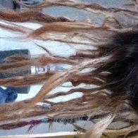 Upside down dreads lol