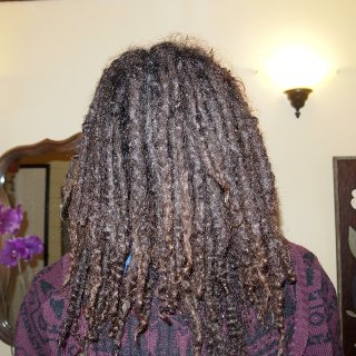 my natural locks. will be 38 weeks this saturday