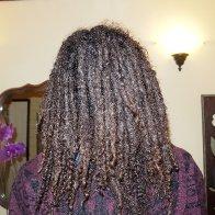 My natural locks. will be 38 weeks this saturday!