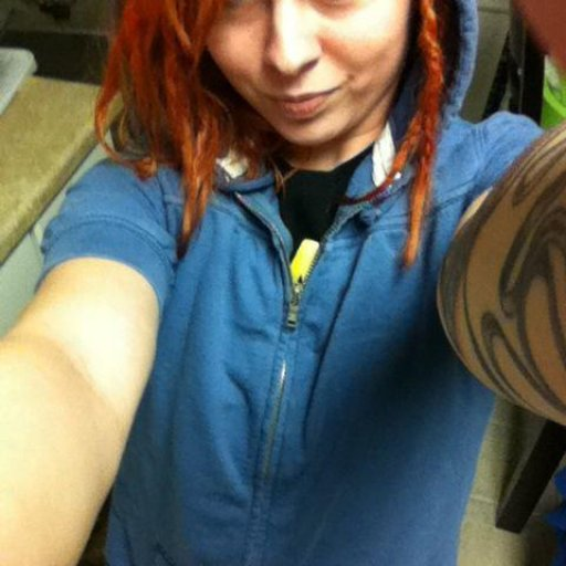 Orange dreads!