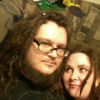 My dreads are roughly 18 months, hers are 16 months