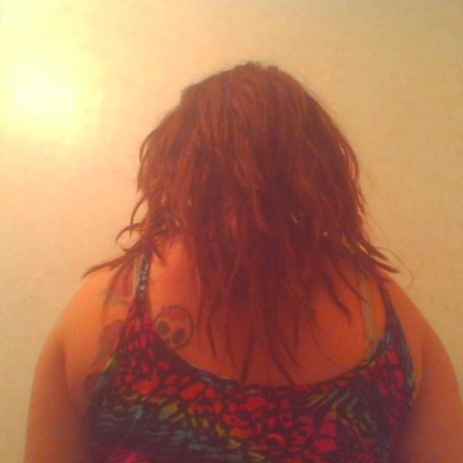 5 weeks with hair over dreads