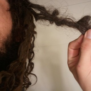 The dread that i have been taking my time in separating for the last couple days since my first separation vid. coming apart slowly, but surely :) plus the picture does little justice, its more separated than it looks. there are two real tight tough spots tho that will prolly be last.