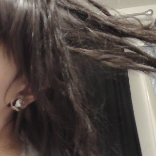 one month baby dreads