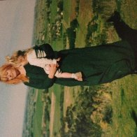 My mum and I way back when!