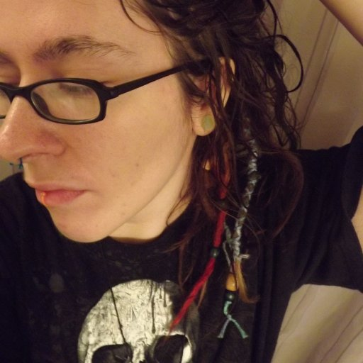 ME :D 3 month old dreads