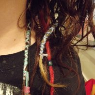Decorated my dreads :D