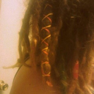 A week or two from now, my dreads will be a year old.