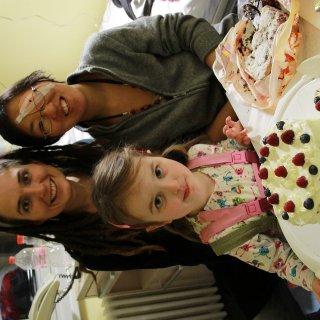 cake in hospital