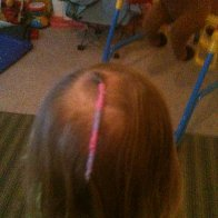 my daughter's hair wrap