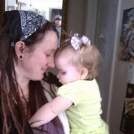 baby dreads and baby Violet