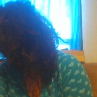 My hair is finally shrinking up into dreads.