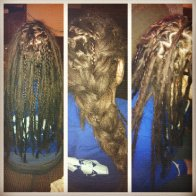 less gaps...more dreads...pretty braids.
