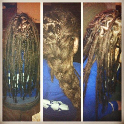 less gaps...more dreads...pretty braids.