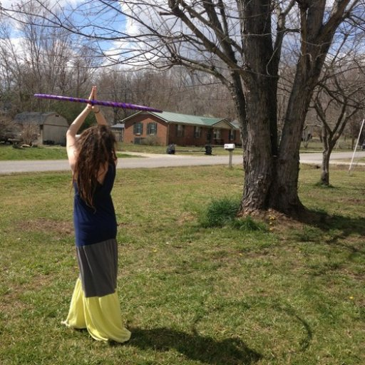 Hooping in the sunshine!