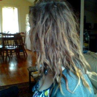 dreads, 1 yr 8 months