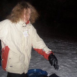 Sleddin and Wild Turkey at the ol' I-town countryclub. Not sure exactly when this picture was taken, 2009?