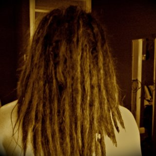 almost 3 months freshly washed happy dreads