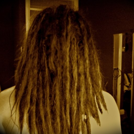 Almost 3 months freshly washed happy dreads!!