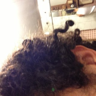 curls are uncurling