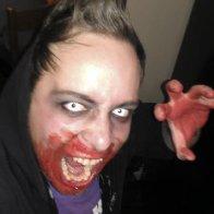 Zombie for halloween