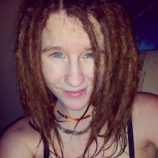 After my first BS wash. My dreadlings at a week old (yesterday) <3