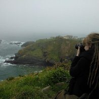 Photographing Lizard Point